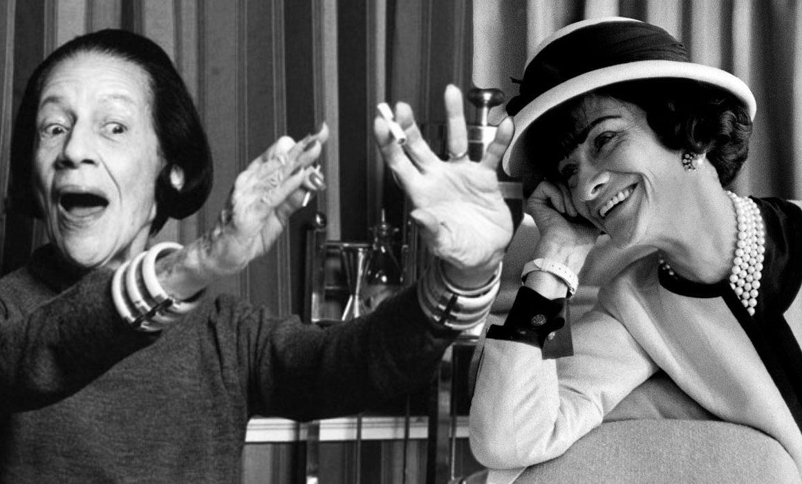 Dia das mulheres: Coco Chanel e Diana Vreeland